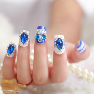 2015-Manicure-set-of-font-b-Super-b-font-beautiful-blue-with-diamond-font-b-nails